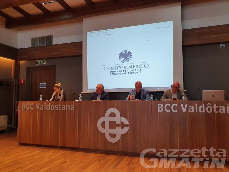Aosta, piano del traffico: commercianti preoccupati dai parcheggi, si valutano azioni