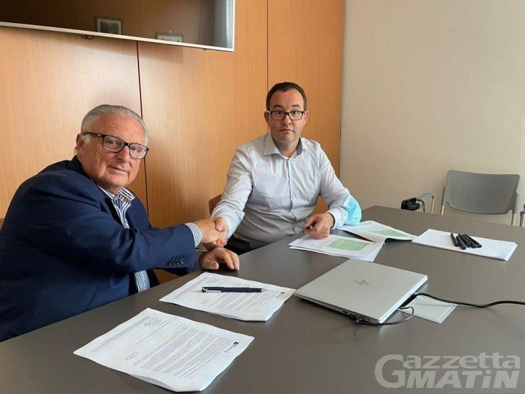 Accordo di collaborazione BCC Valdostana e Fipe Confcommercio