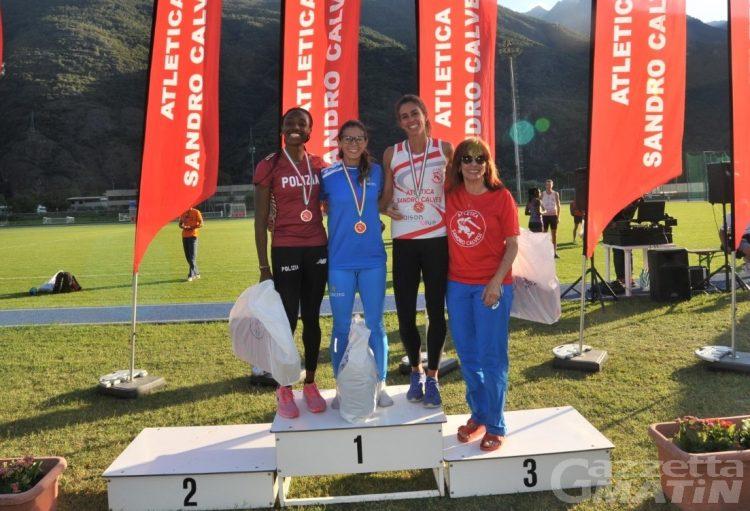 Atletica: Eleonora Marchiando batte il record valdostano dei 200 metri