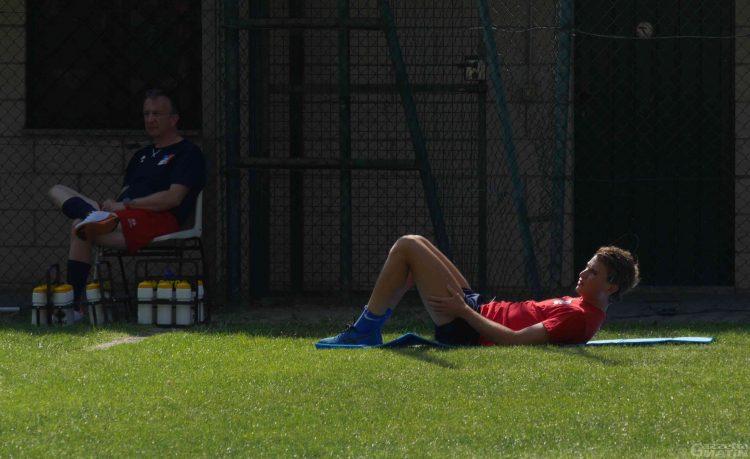 Calcio: rottura del crociato e del menisco per André Sassi