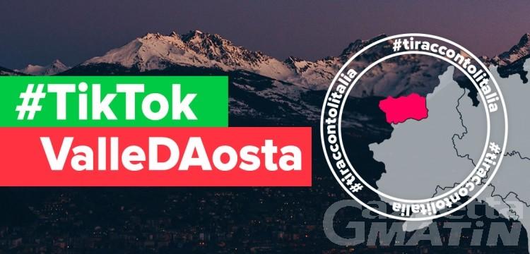 Ti racconto l'Italia: Valle d'Aosta 15ª tappa del progetto di Tik Tok