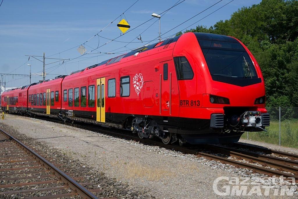 Ferrovia, Valle d'Aosta: quasi 30 milioni di euro per l'acquisto di altri tre treni bimodali