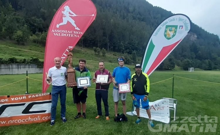 Rebatta: Gioele Agostino incoronato Champion d'Eté