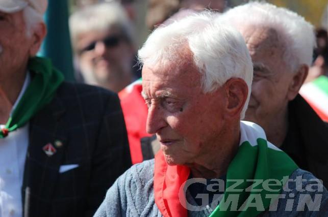Lutto: addio al partigiano 'Livio' Giulio De La Pierre