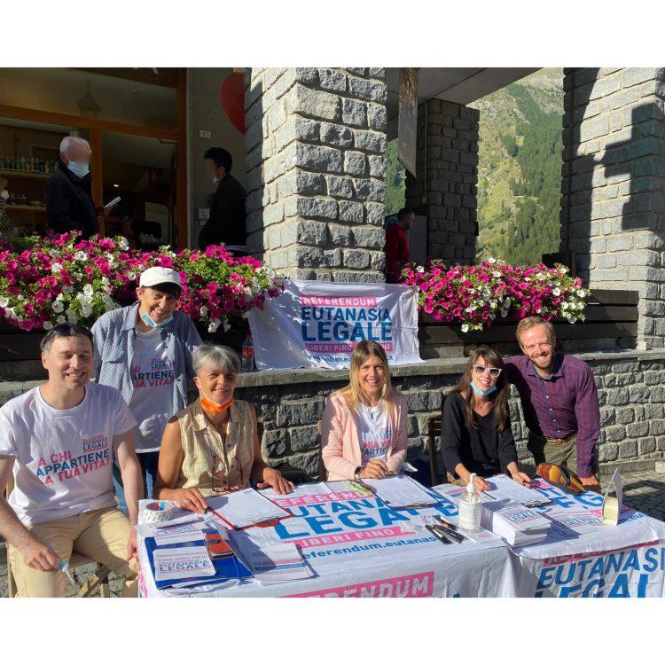 Referndum per l'Eutanasia legale: la Valle d'Aosta è tra le regioni con più firme raccolte