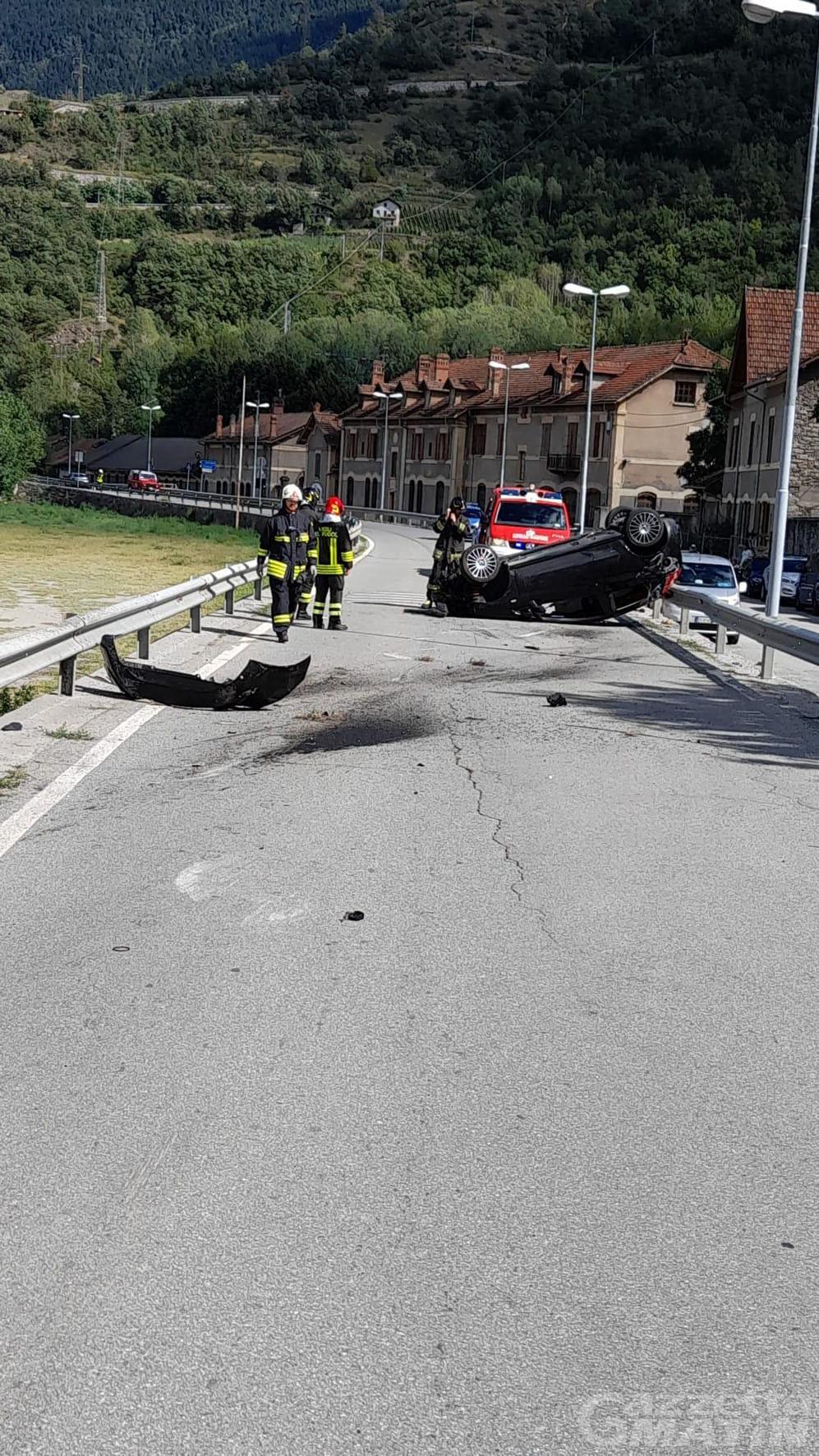 Incidenti stradali: un automobilista e due motociclisti in pronto soccorso