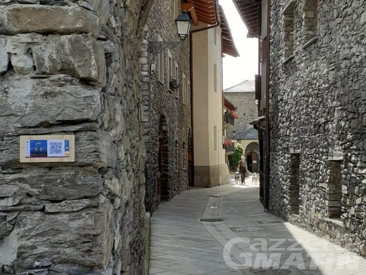 Morgex da ascoltare, passeggiata interattiva nel borgo