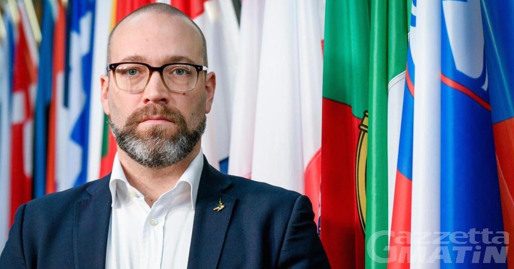 Lega: ad Aosta l'eurodeputato Alessandro Panza per parlare di Europa