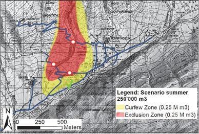 Courmayeur, allerta meteo: dalle 16 chiusa la strada per la Val Ferret