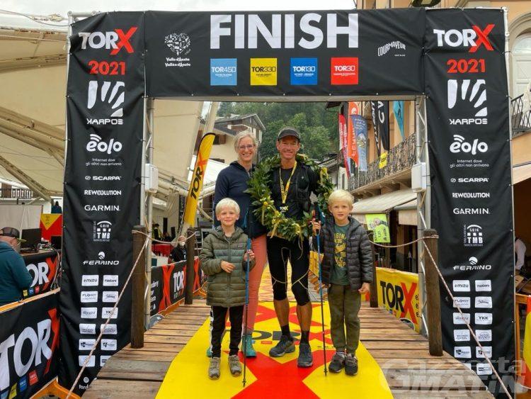 Tor des Géants: Petter Restorp completa il podio maschile