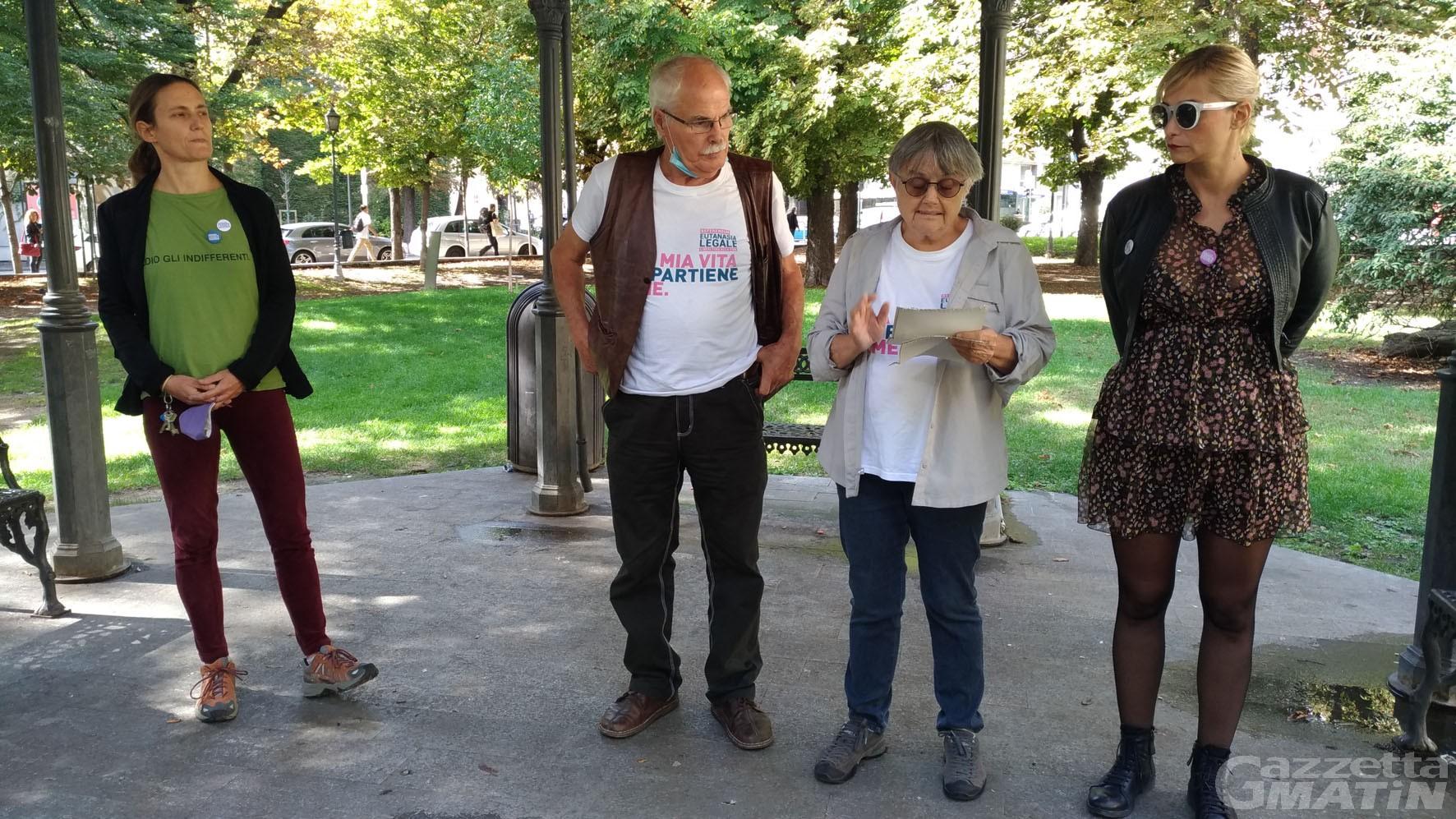 Eutanasia legale: in Valle d'Aosta raccolte 7.118 firme