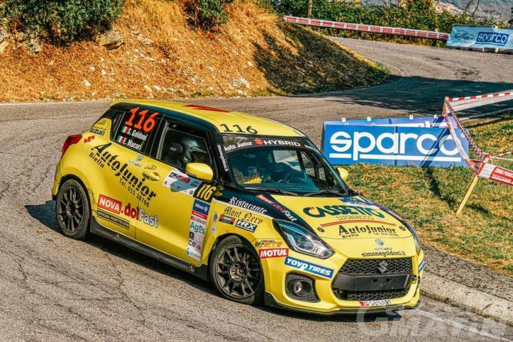"""Rally: Simone Goldoni colpisce al """"Mille Miglia"""""""