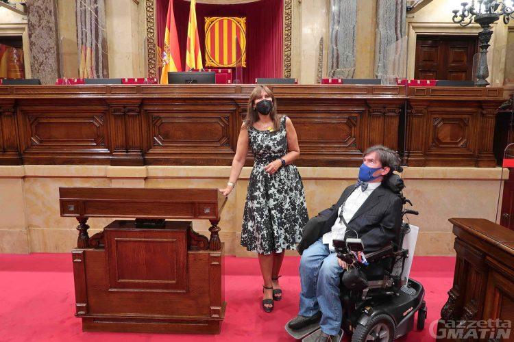 Consiglio Valle: il presidente Bertin in visita in Catalogna