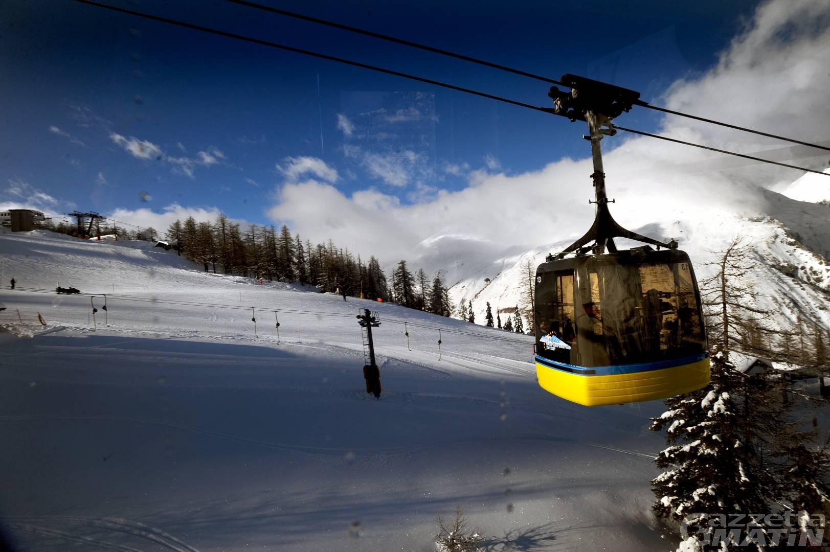 Sci, Valle d'Aosta: 25 milioni per miglioramento e sicurezza comprensori