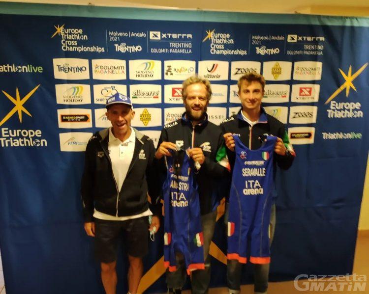 Cross duathlon: doppietta azzurra agli Europei con Pippo Lamastra e Alessandro Saravalle