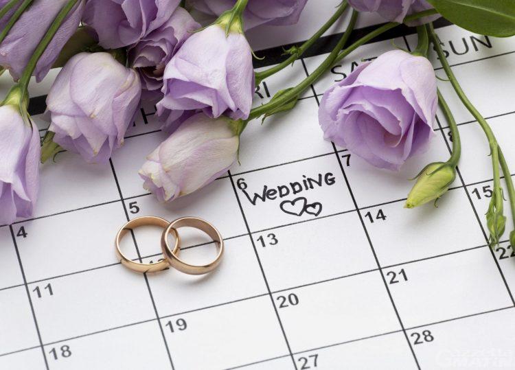 In Valle, tanti matrimoni, boom di unioni civili tra donne e record di divorzi