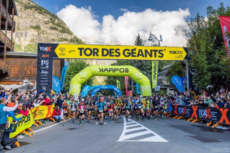 Tor des Géants: Franco Collé e Jonas Russi primi a La Thuile