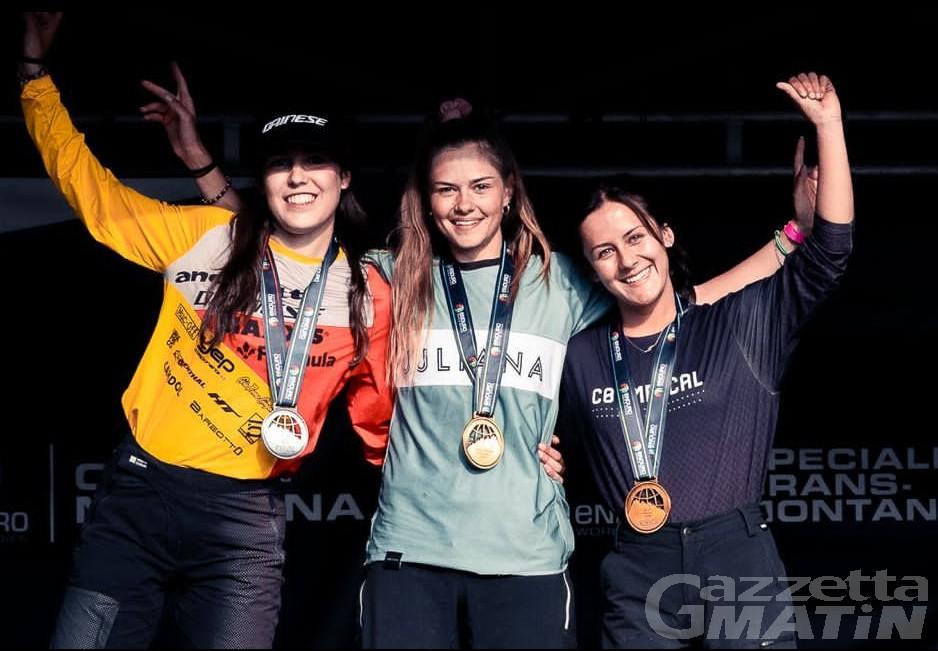 Enduro World Series: Sophie Riva argento nella tappa di Crans Montana
