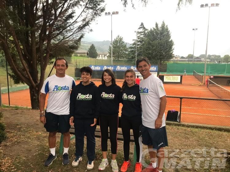 Tennis: a Charvensod le finali per il Nord Italia dell'Under 14 femminile