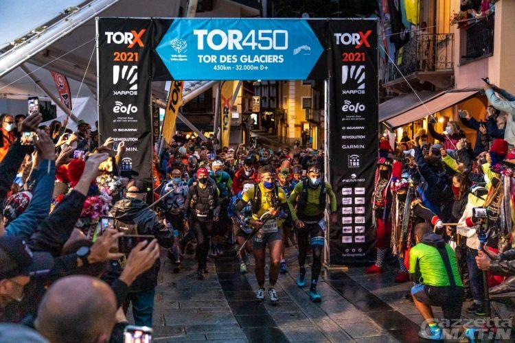 TORX: 56 atleti hanno preso il via del Tor des Glaciers