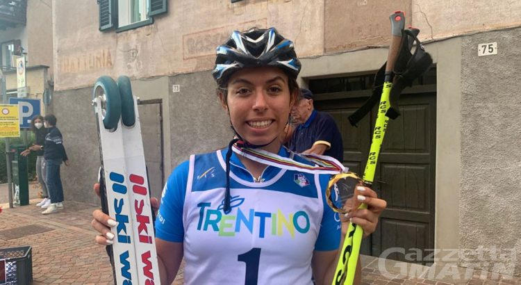 Skiroll: Sabrina Borettaz campionessa mondiale Junior nella gara sprint skating