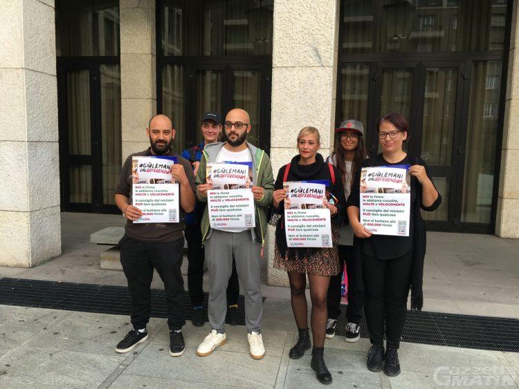 Cannabis legale: il Comitato valdostano si unisce alla protesta contro i Comuni