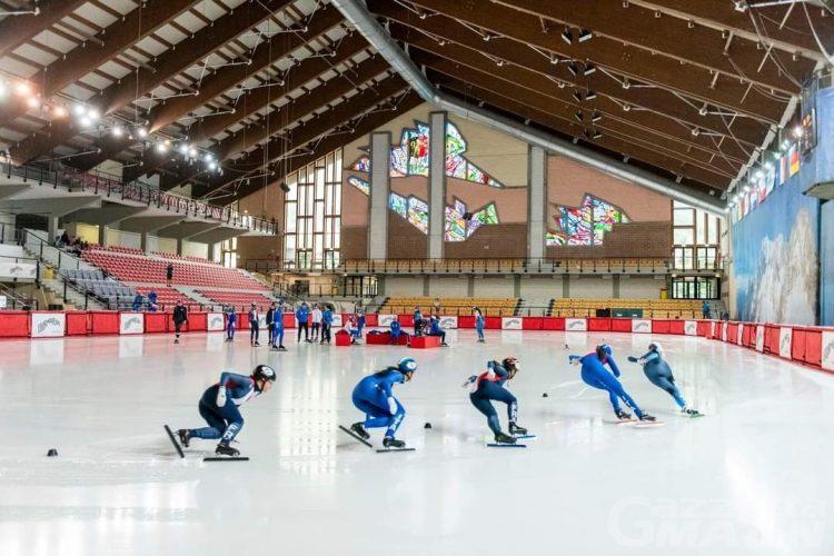 Shor track: doppietta olandese nella Courmayeur Cup, bene l'Italia