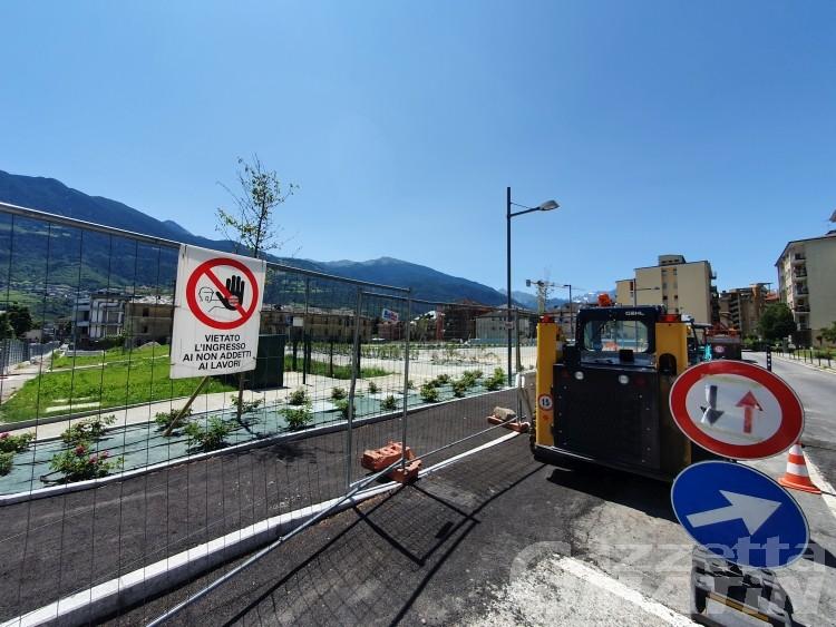 Aosta, parcheggi Nuv: telenovela vicina alla fine, si avvicina l'apertura