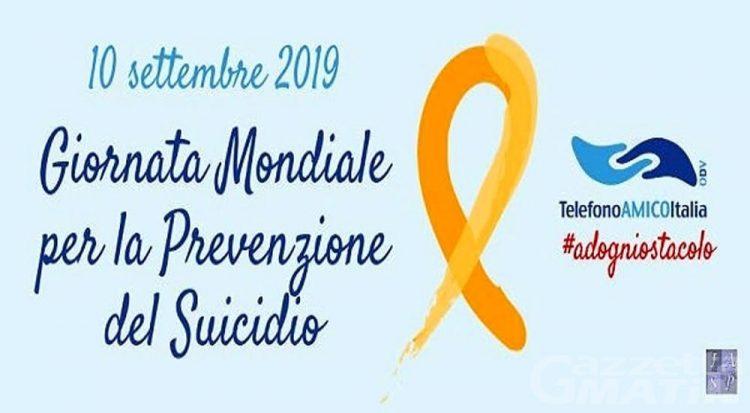 Venerdì 10, Giornata mondiale per la prevenzione del suicidio
