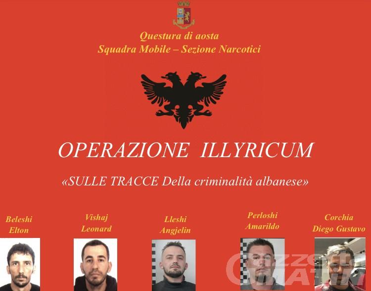 Aosta, «una filiera della cocaina in mano agli albanesi» sgominata dalla Polizia: 5 arresti