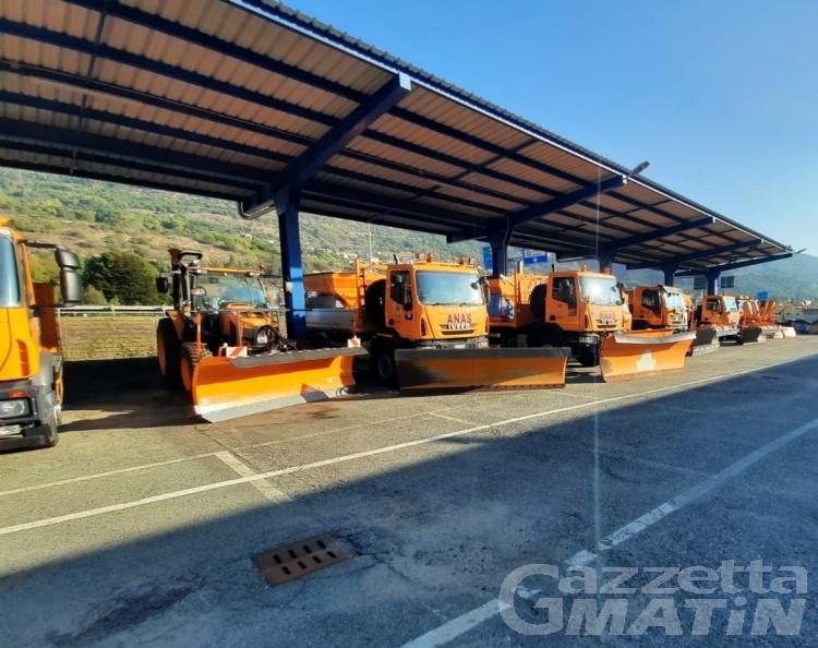Strade in Valle d'Aosta: da domani obbligo di catene o pneumatici invernali