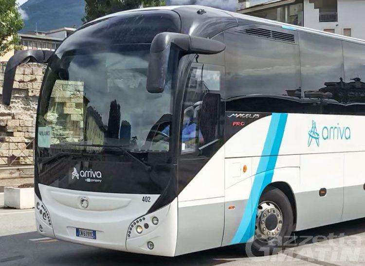 Trasporti, Valle d'Aosta: Arriva Italia cerca 10 autisti di autobus