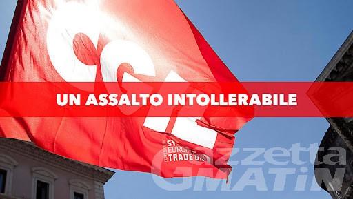 Assalto alla Cgil, sindacato Giornalisti VdA esprime solidarietà