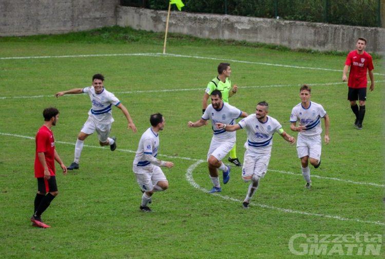 Calcio: Aygreville e Charvensod cadono a Borgovercelli e Druento