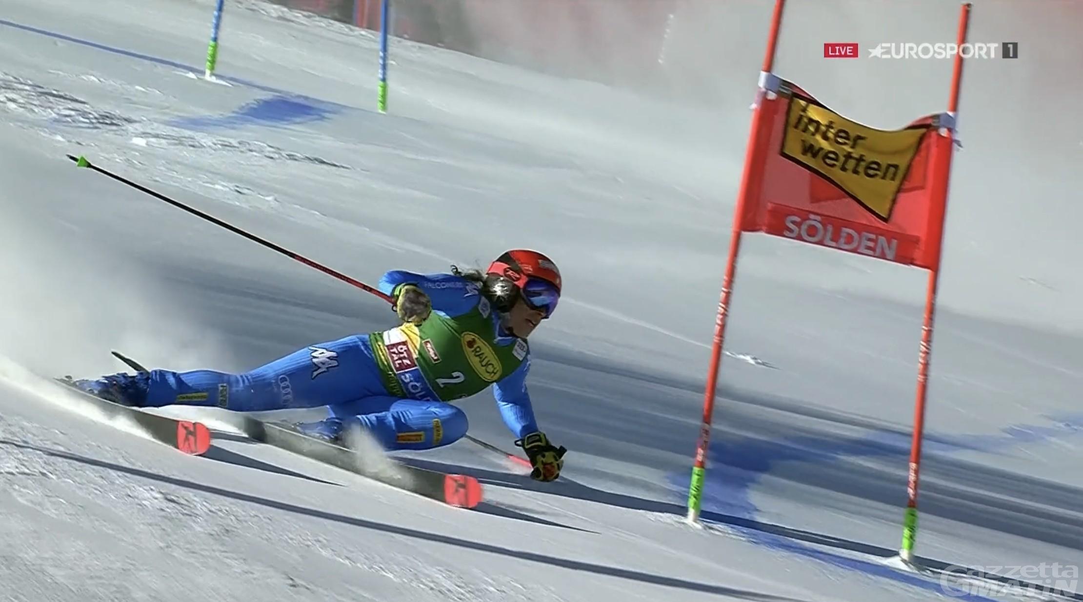 Sci alpino: a Soelden comanda Lara Gut-Behrami, Federica Brignone in ritardo di 1″52