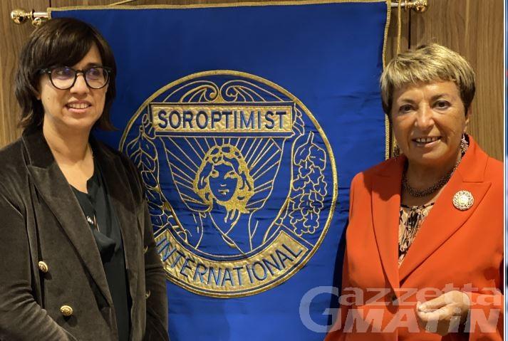 Alessandra Fanizzi nuova presidente Soroptimist Valle d'Aosta