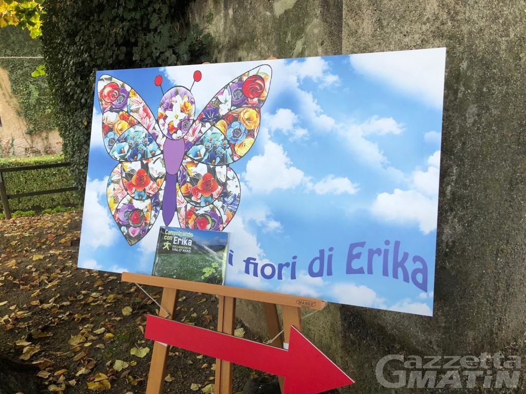 Arte e bellezza: in mostra i fiori in ricordo di Erika Giorgetti