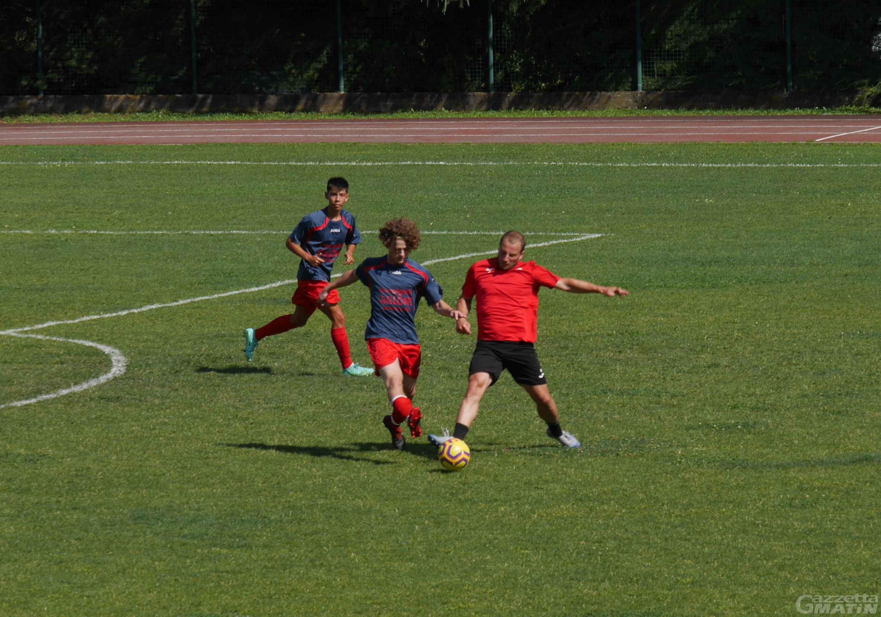 Calcio: Furfori risponde a Chiappino, Aygreville-LG Trino finisce pari