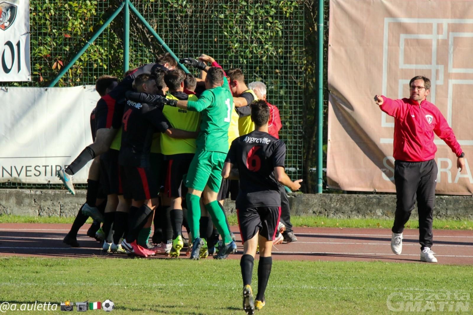 Calcio: l'Aygreville ferma lo Stresa, al Quinci.Tava. il quasi derby con lo Charva
