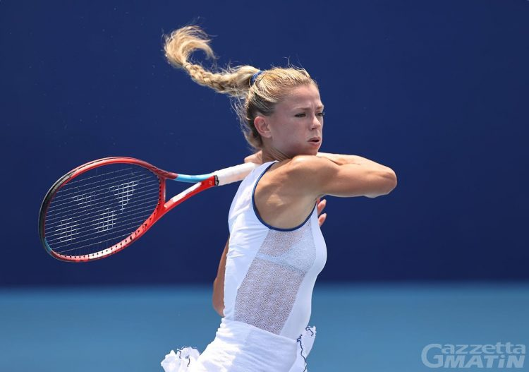 Tennis WTA: a Courmayeur anche l'azzurra Camila Giorgi