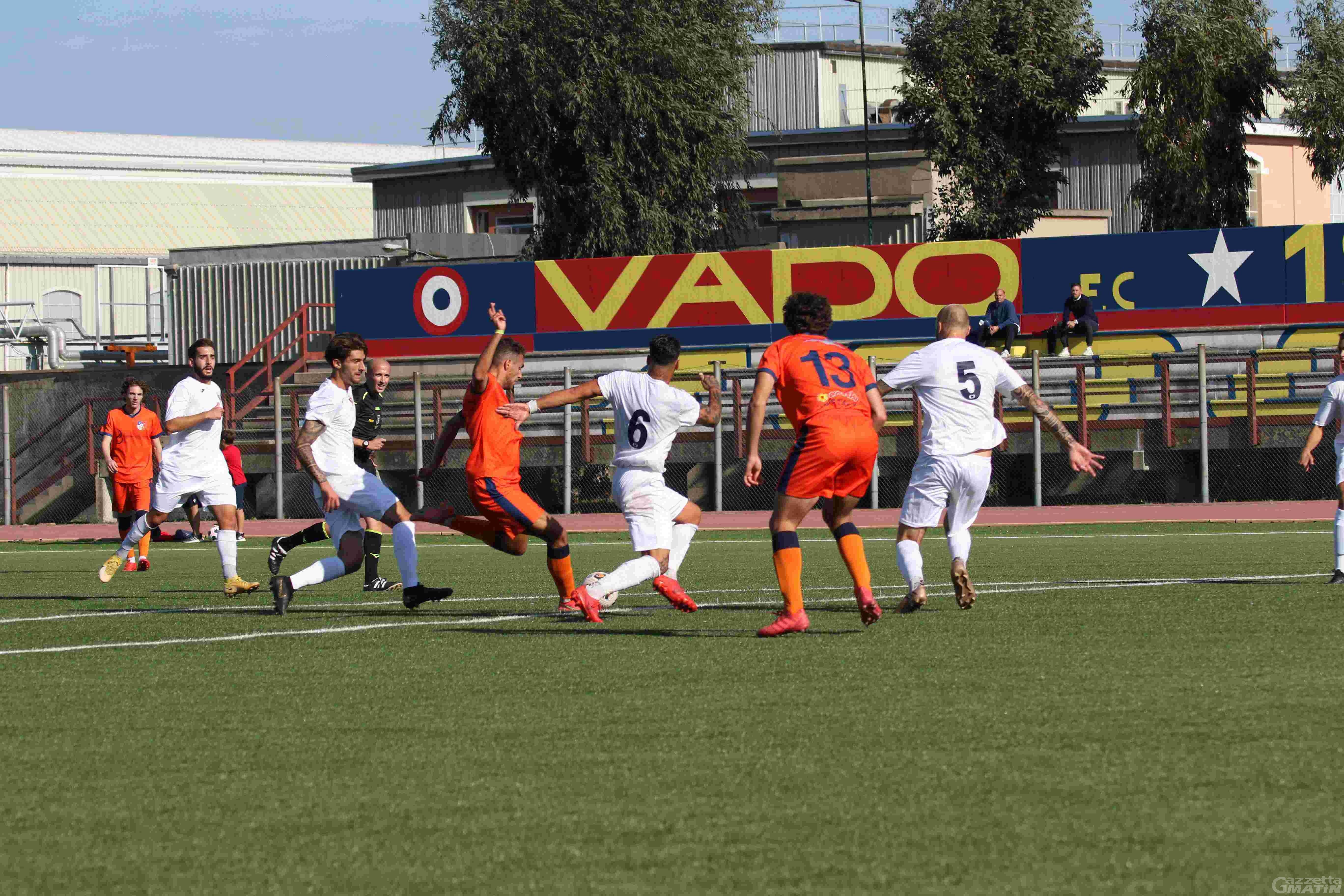 Calcio: il P.D.H.A.E. in emergenza conquista un gran punto a Vado