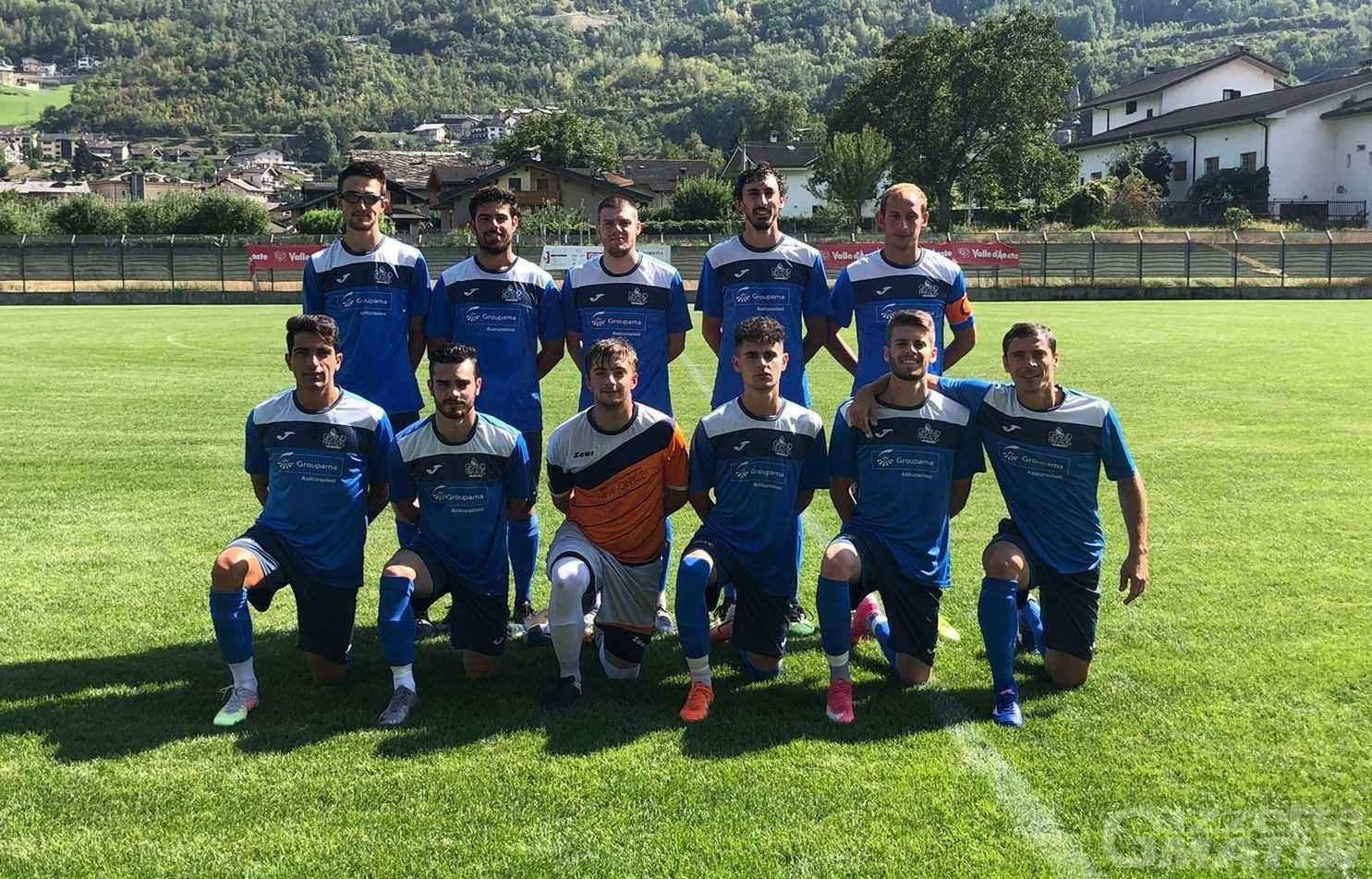 Calcio: il Valle Cervo Andorno vince 3-0 a casa del Grand Paradis