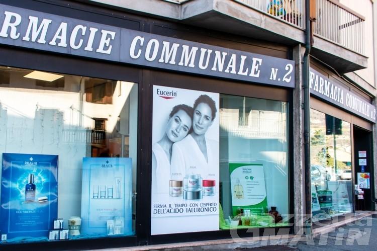 Green pass: dal 15 ottobre tamponi anche in 2 farmacie comunali di Aosta