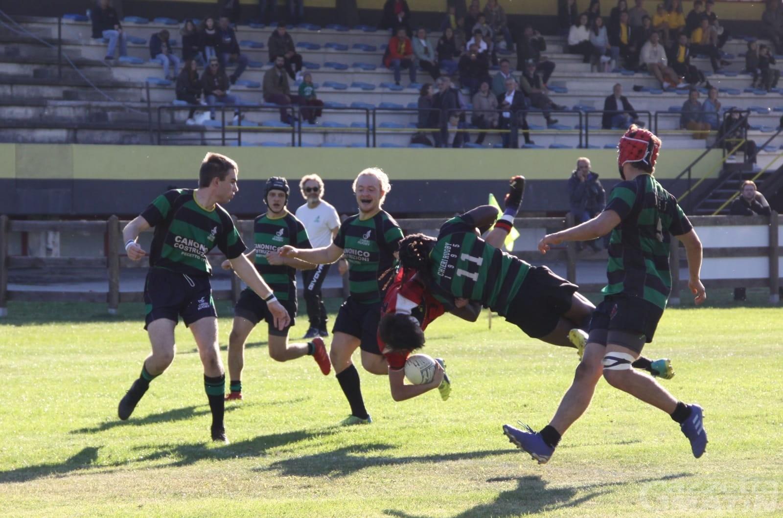 Rugby: lo Stade Valdôtain vince la prima in una domenica di festa