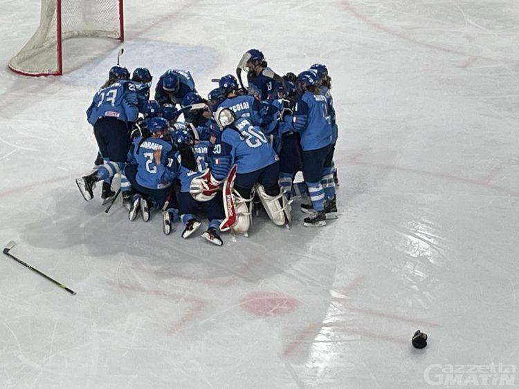 Hockey su ghiaccio: Marta Mazzocchi debutta in Nazionale senior