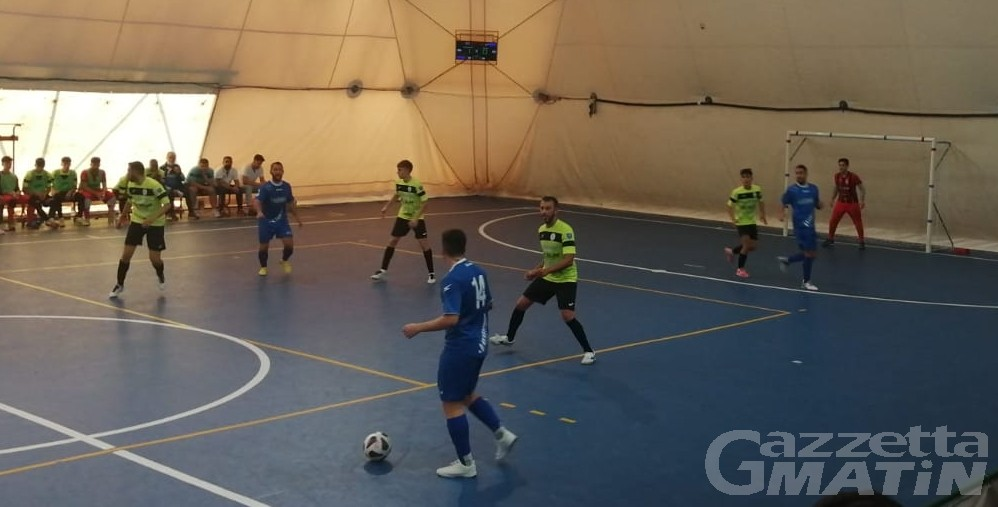 Futsal: l'Aosta Calcio 511 si sblocca nella ripresa a Monastir
