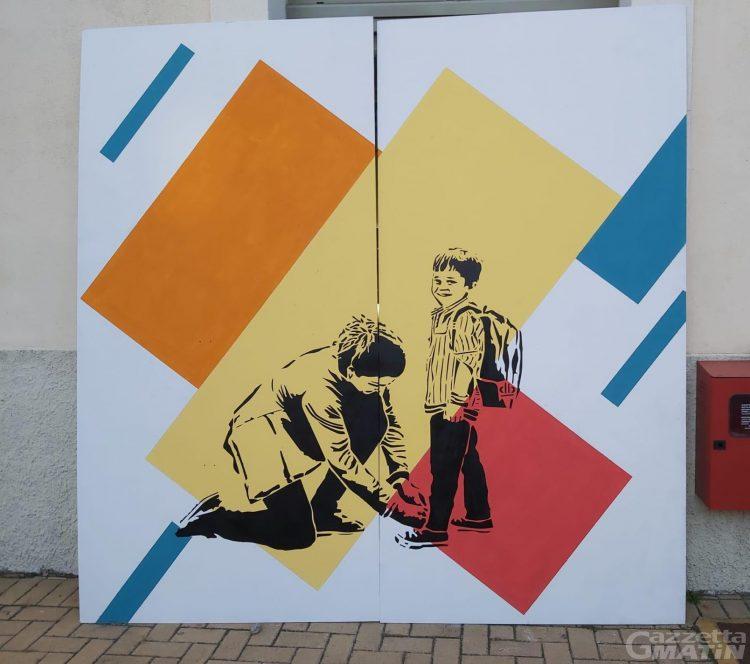 Giornata europea delle fondazioni comunitarie: un murales alla Cittadella dei giovani