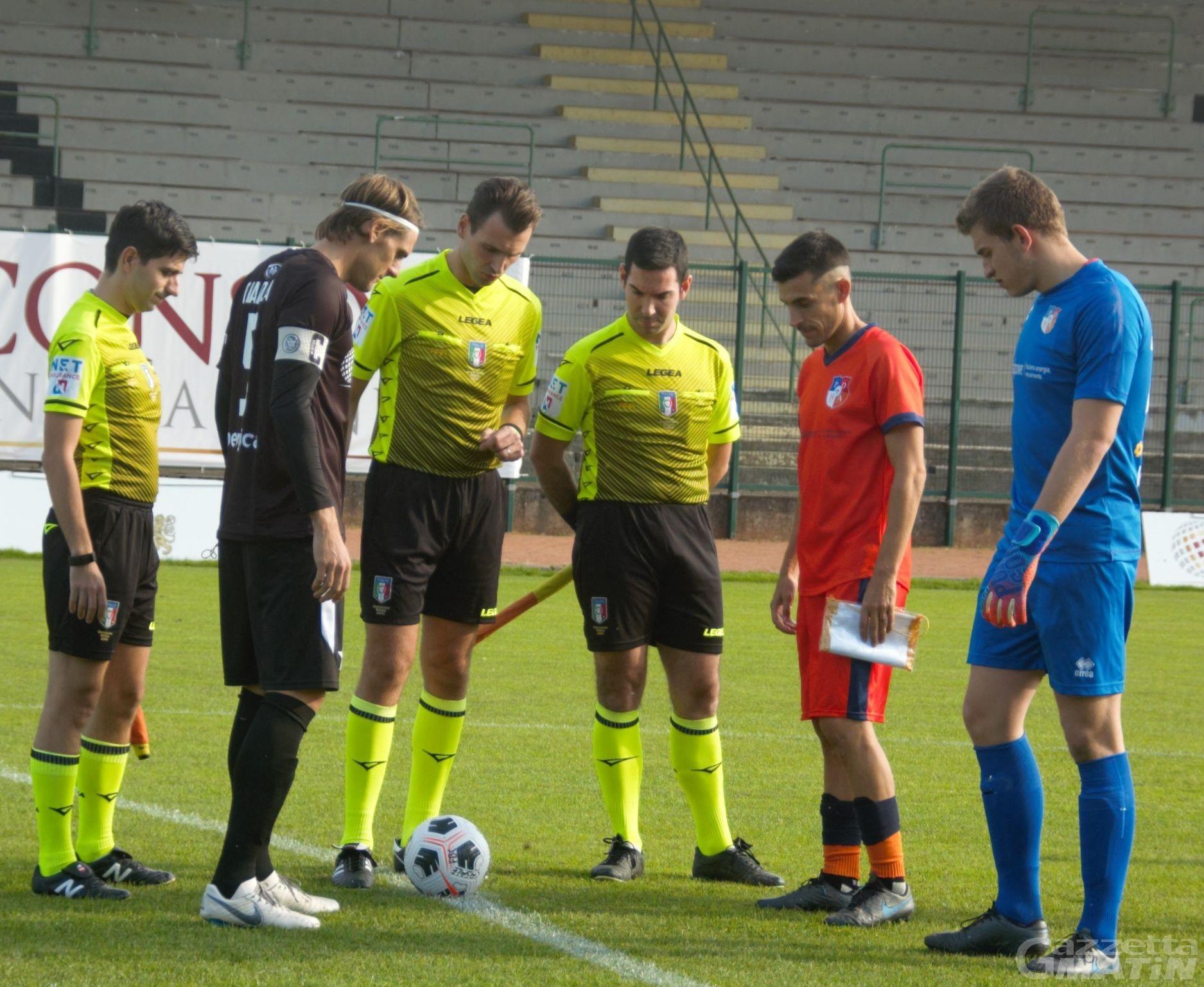 Calcio: P.D.H.A.E. punito nel finale, sconfitto anche lo Charvensod