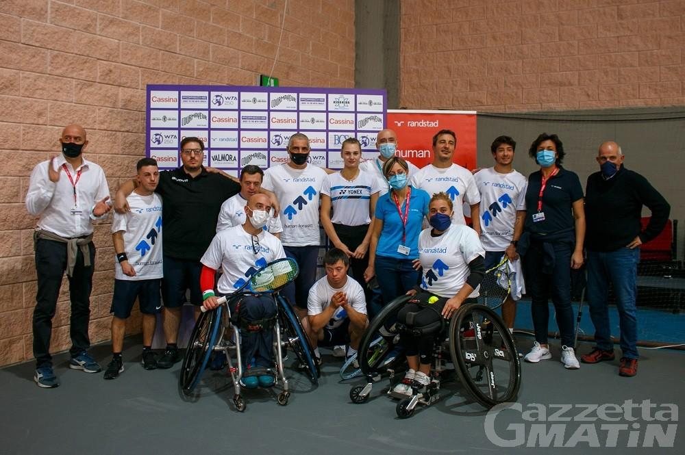Courmayeur Open: Adaptive Tennis Randstad regala emozioni