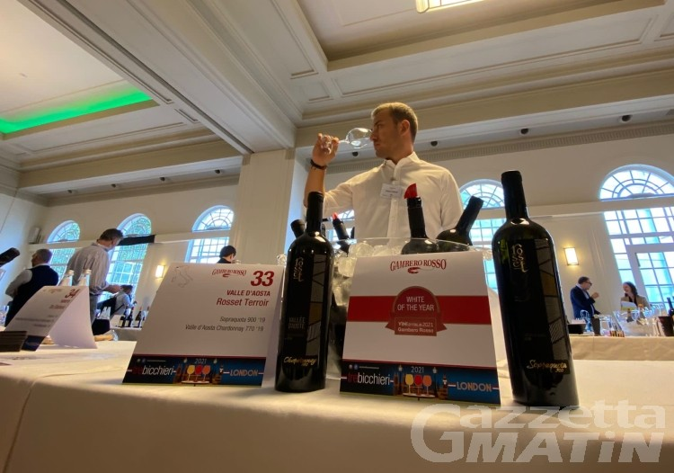 Vini: il Sopraquota 900 di Rosset Terroir in vetrina a Londra